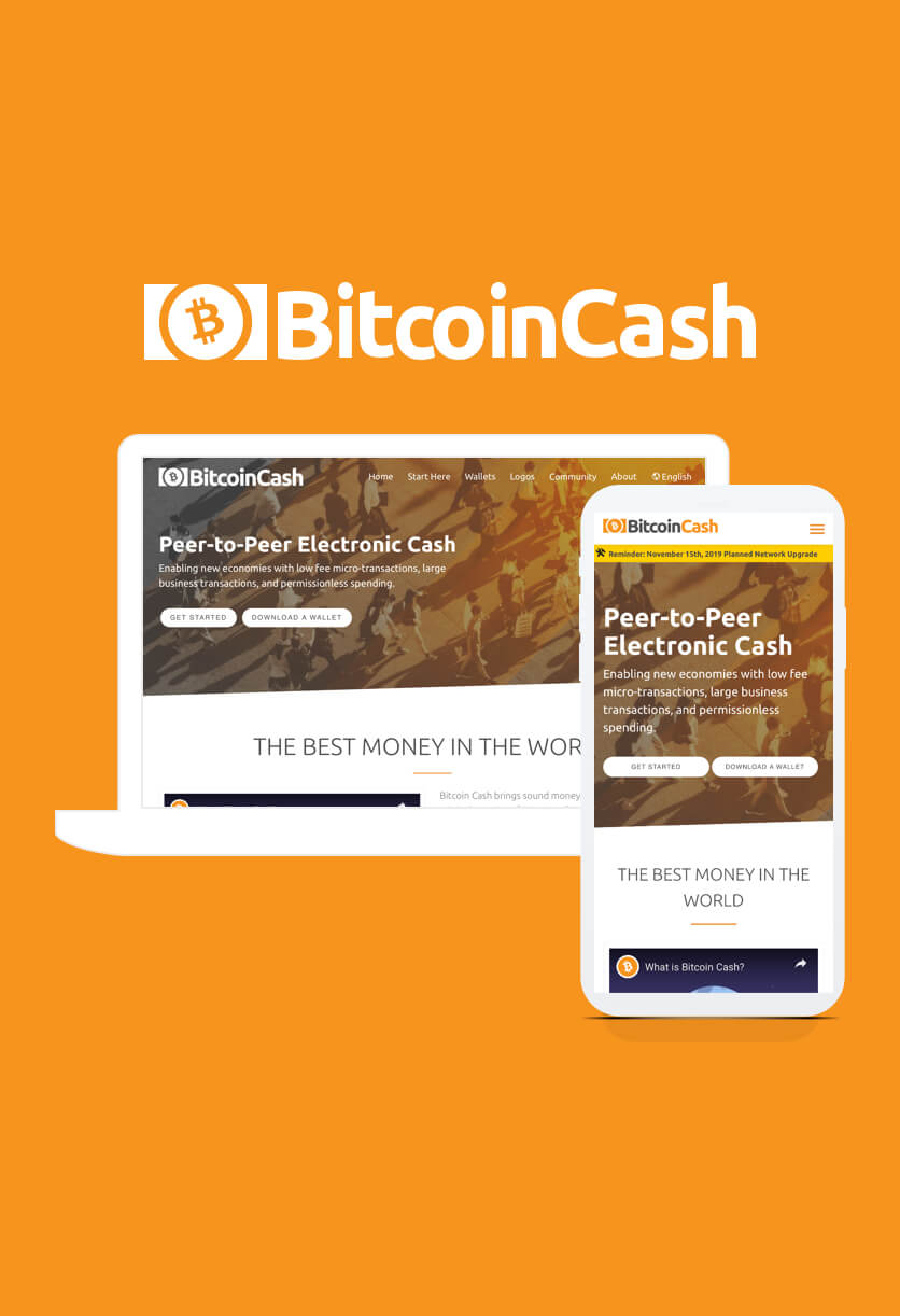 Bitcoin Cash Website
